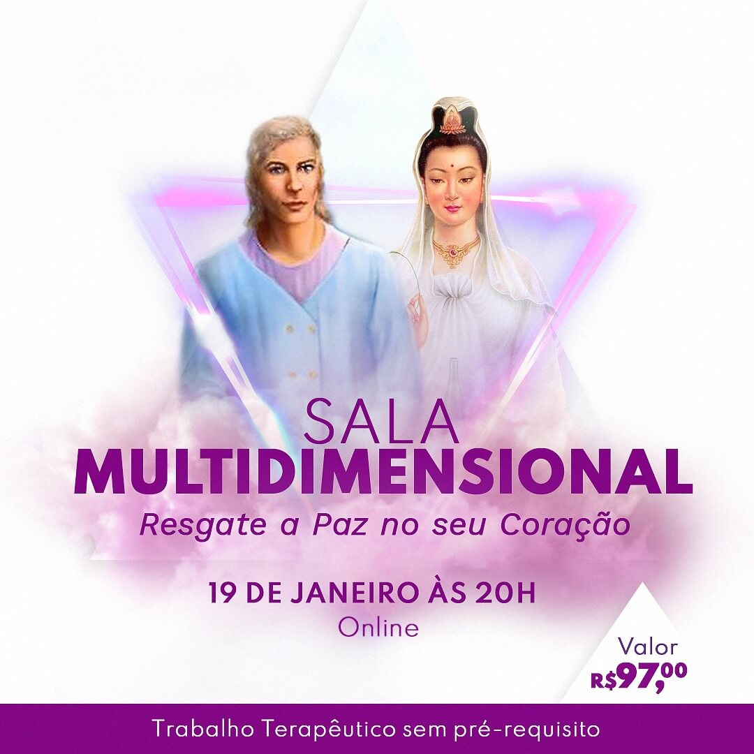 Sala Multi Dimensional - Evento online com Rafael Orso